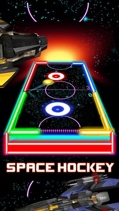 Glow Hockey HD – 2 Player Neon Light Air Hockey