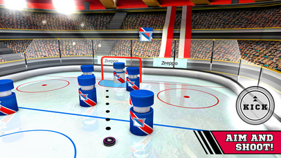 Pin Hockey – Ice Arena – Glow like a superstar air master