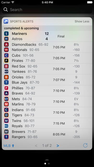 Sports Scores & Alerts