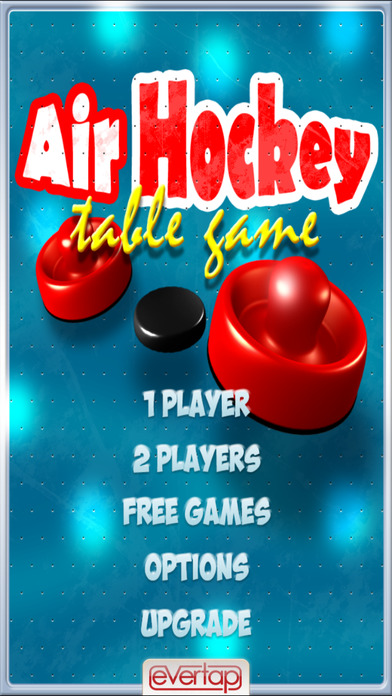 Free Air Hockey Table Game