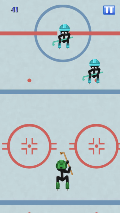 Stick-man Hockey Star Skater Fight